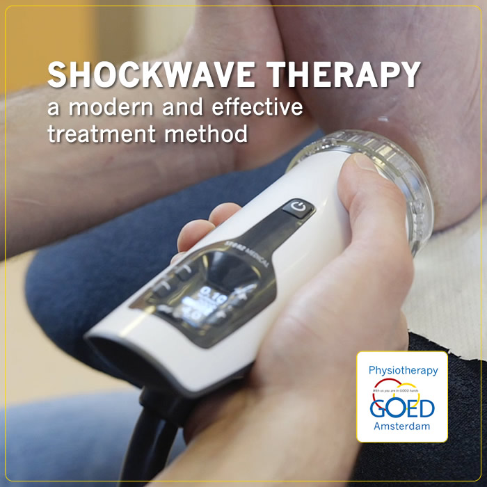 shockwave treatment amsterdam physiotherapy GOED