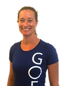 Astrid Sibson physiotherapist at GOED Amsterdam